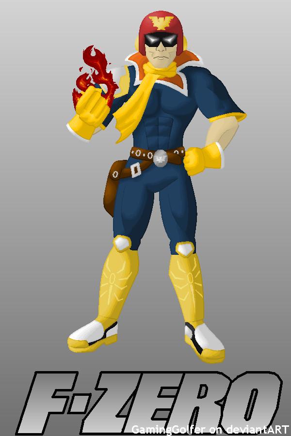Captain falcon punch - photo#32