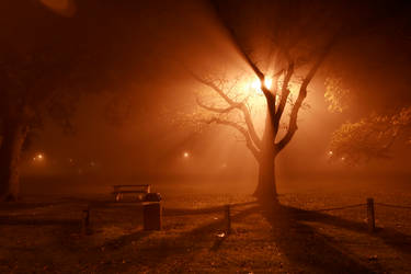 Eerie Night by InkBig