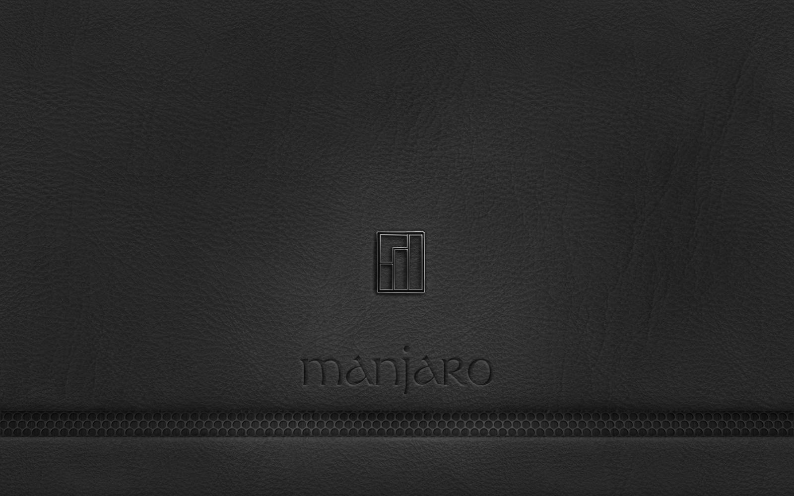 Black-Leather-Manjaro-Wallpaper by Tefrem34 on DeviantArt