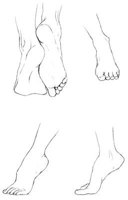 Study of Feet I