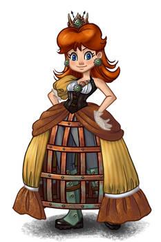Steampunk Daisy Color