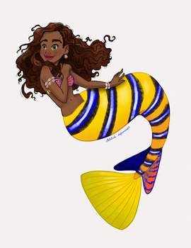 Mermay 2020 - Regal Angelfish