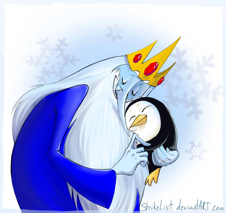 Ice King Christmas Card by StrikeList