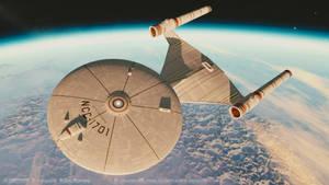 Ralph McQuarrie Enterprise 3