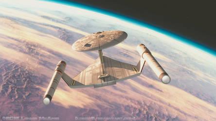 Ralph McQuarrie Enterprise 4 by lonzo5
