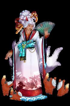 Kitsune-hime Miharuru