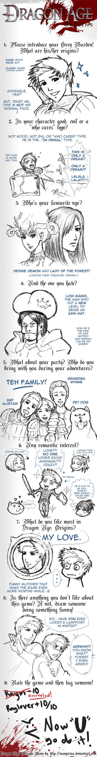 Dragon Age Meme by RoyLover