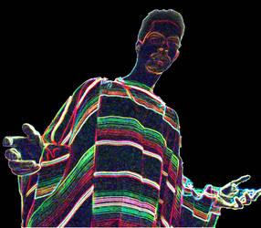 Item 72 Techno Colored Savior. by XeroxKill