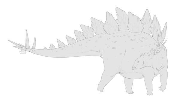[Dinovember day 3] - Stegosaurus
