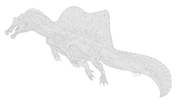 [Dinovember day 4] - Spinosaurus