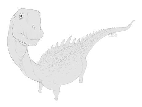 [Dinovember day 18] - Ampelosaurus