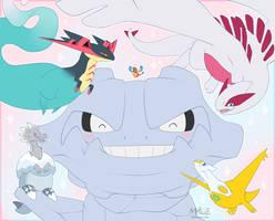 My Pokemon Team! - 25th pokemon anniversary