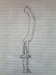 Idgyptian Khopesh (sketch)