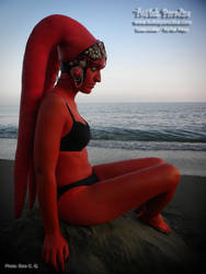 Resting in the serenity of the sea by TwilekParadise