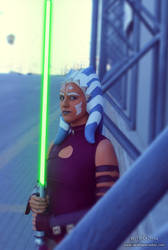 Ahsoka Tano from Clone Wars!!