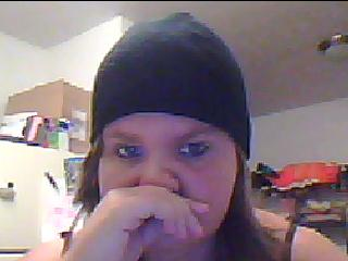 Me in my awesome beanie by Halloween-Nightmares