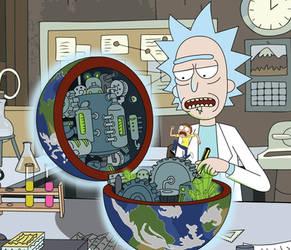 Rick Saves The World