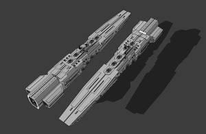 Tempest-Class Battleship by TheOrangeGuy