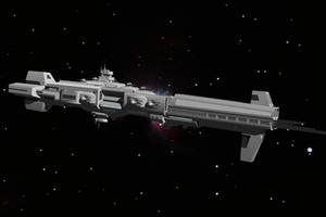ARCANGEL-class Battleship by TheOrangeGuy