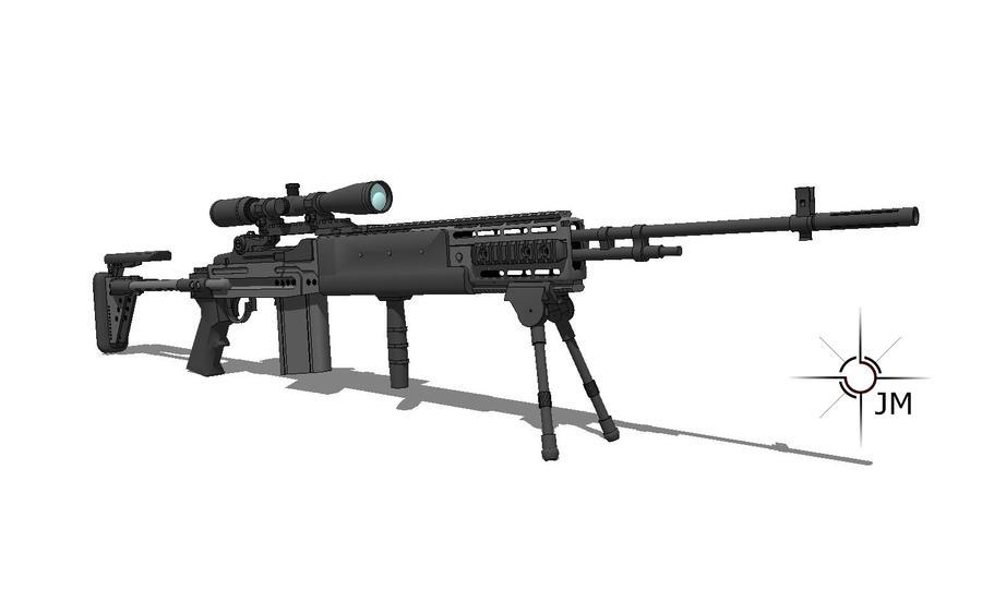 M14 EBR Rifle by TheOrangeGuy on DeviantArt M14 Ebr Rifle