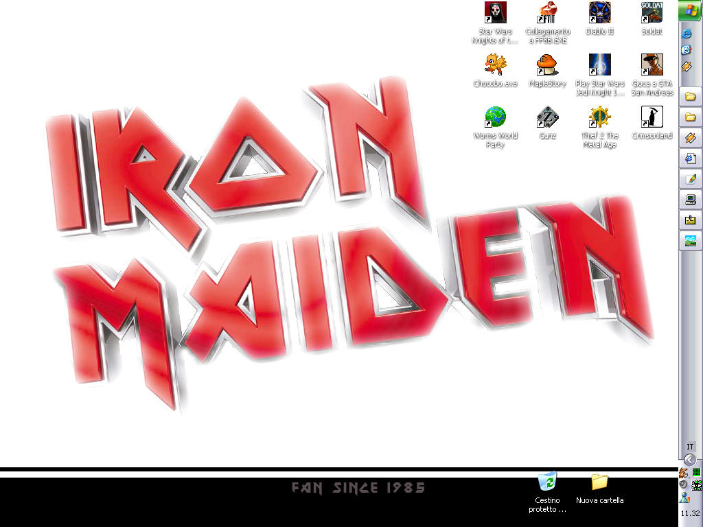 Iron Maiden fan since 1985 by ArganVain