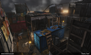 UDK Shanty Town 001