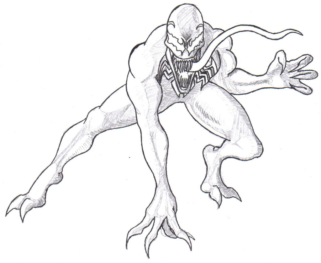 carnage spider man coloring pages - photo#29