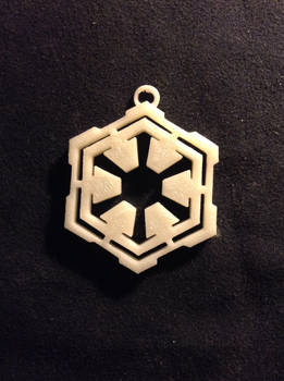 3d Modelled and Printed Pendant