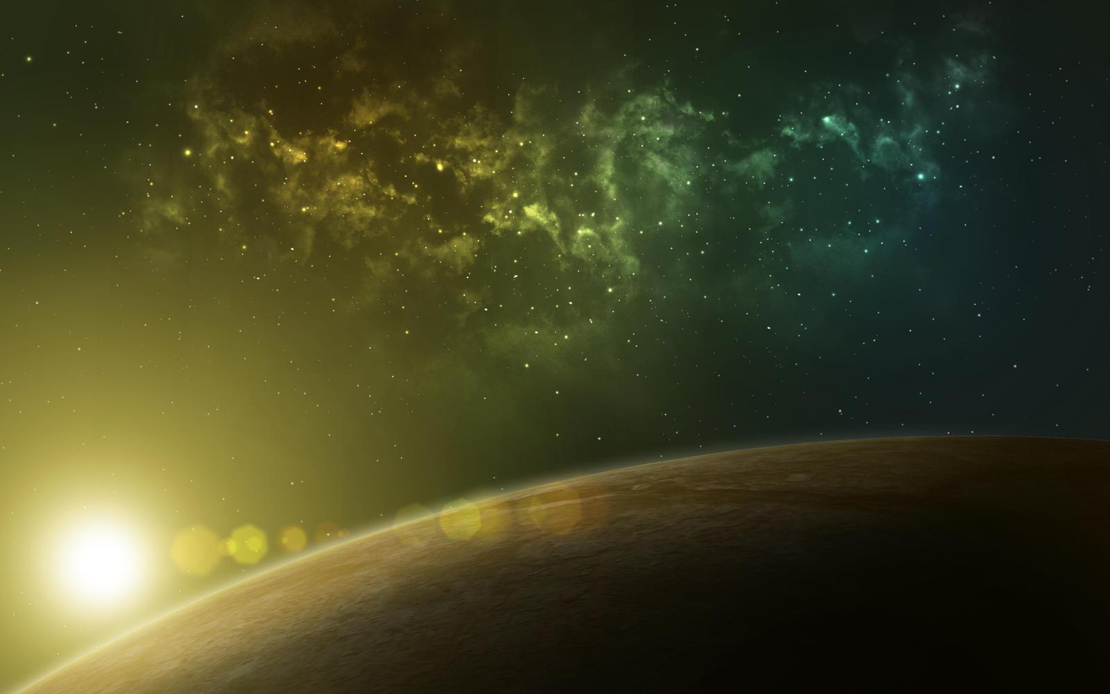 Distant nebula by DmitryEp18