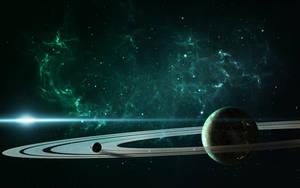A beauty in the space by DmitryEp18