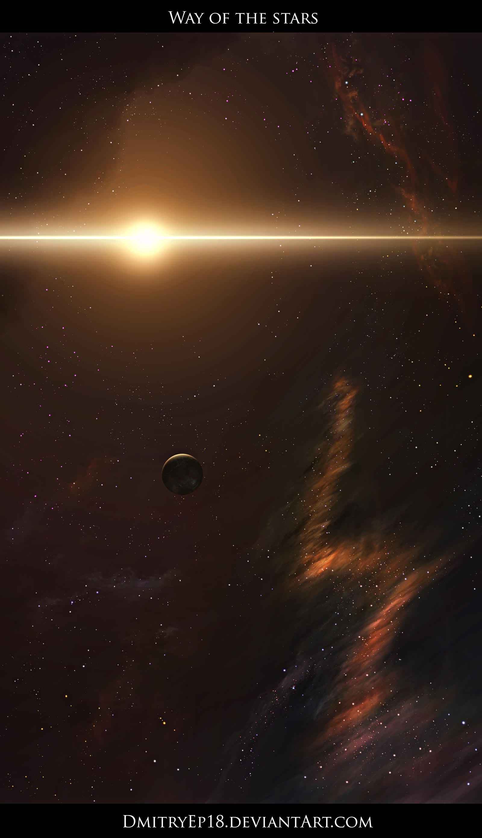 Way of the stars by DmitryEp18
