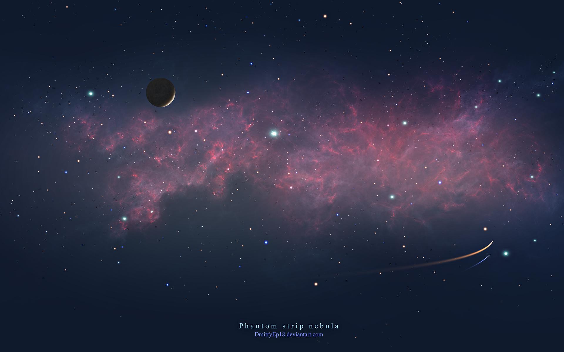 Phantom strip nebula by DmitryEp18