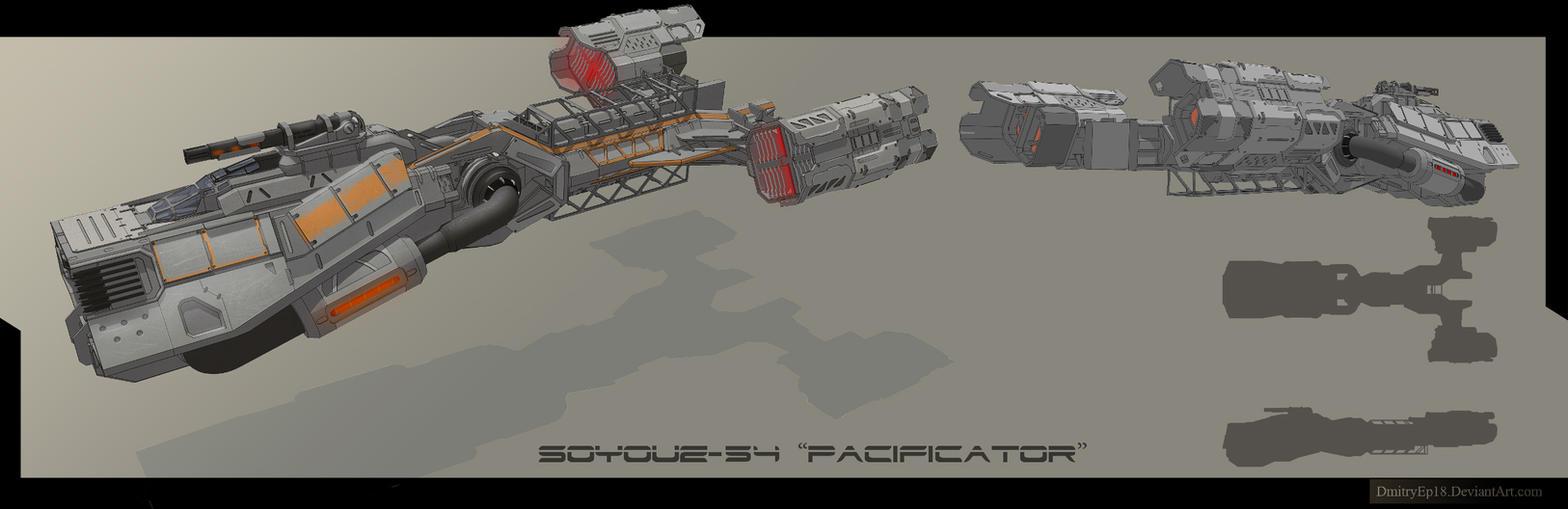 Soyuz-54 by DmitryEp18