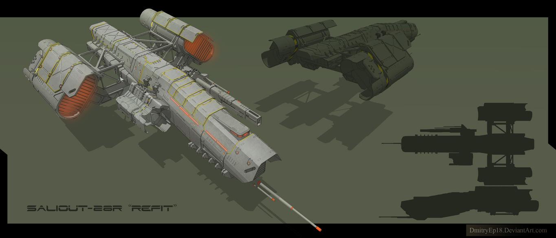 Saliout 28R by DmitryEp18
