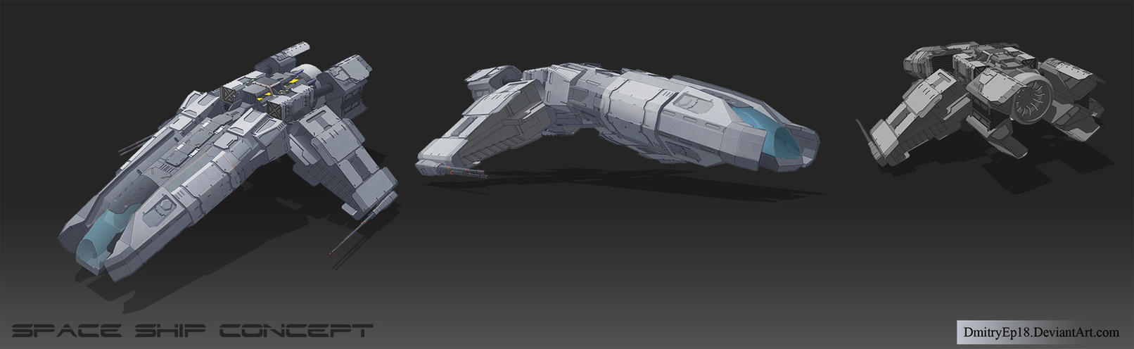 Space ship concept by DmitryEp18