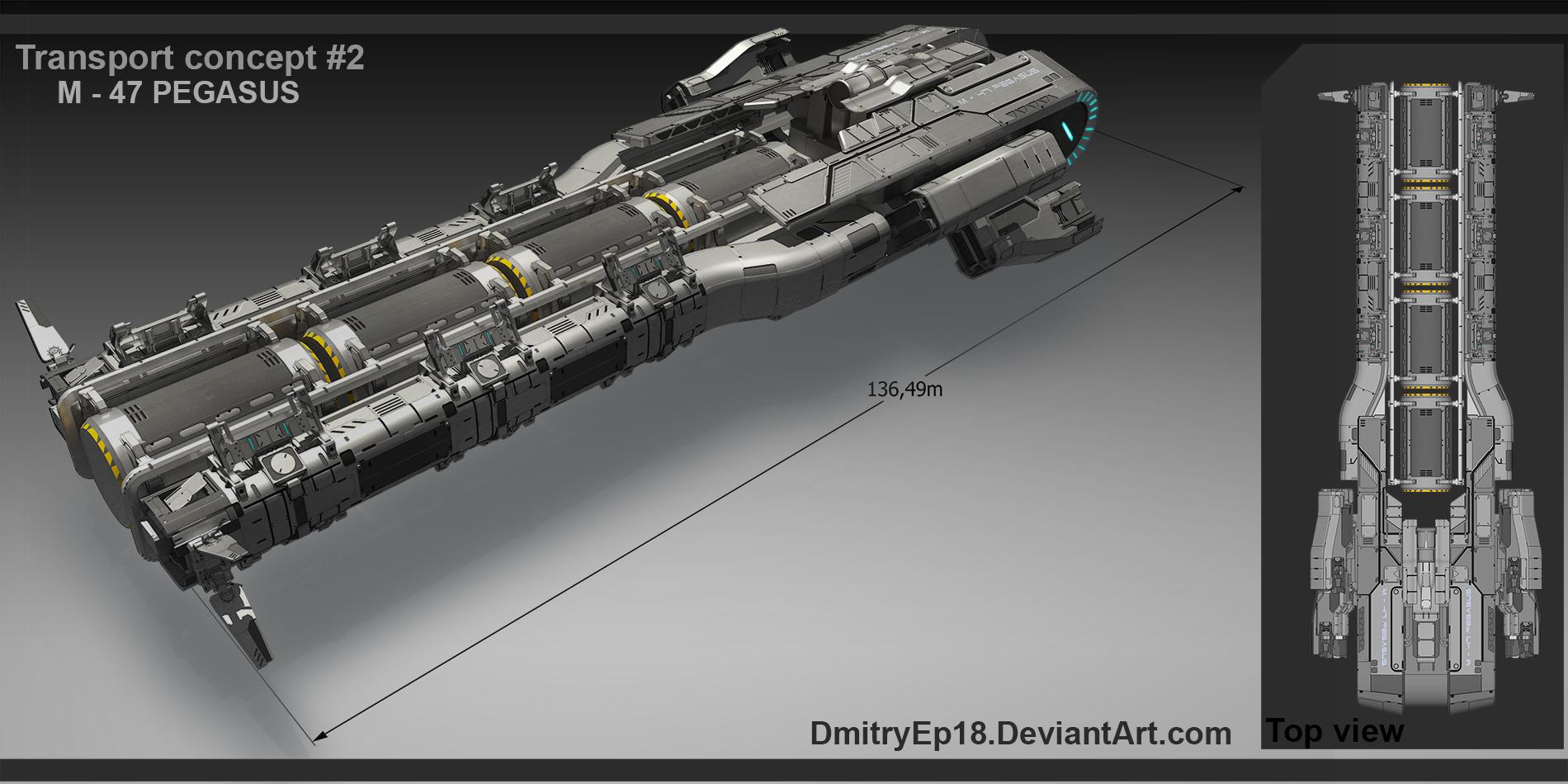 M - 47 pegasus by DmitryEp18