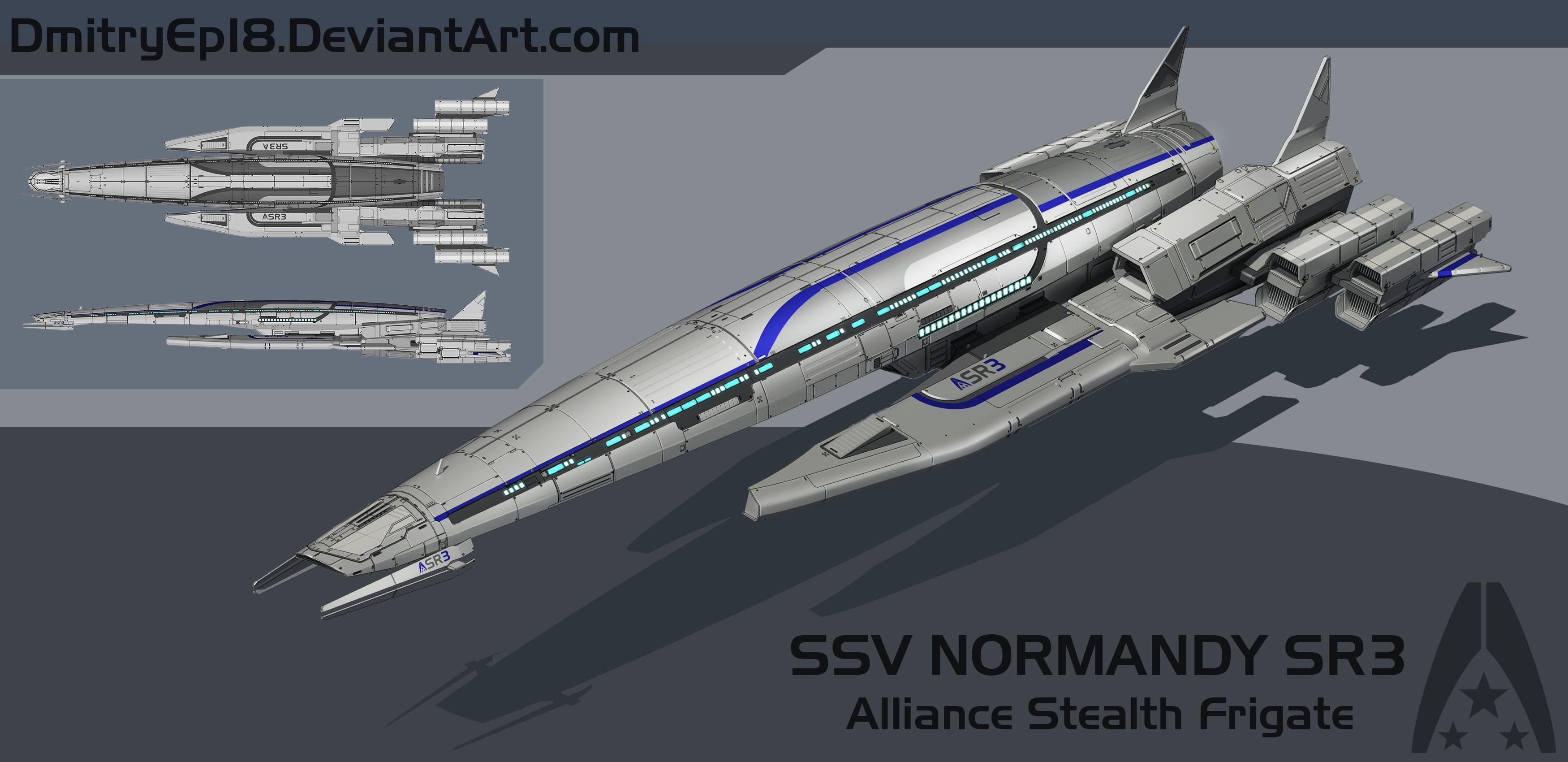 Normandy SR3 Concept By DmitryEp18 On DeviantArt