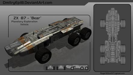 Planetary Exsploration Vehicle concept by DmitryEp18