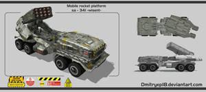 Mobile rocket platform