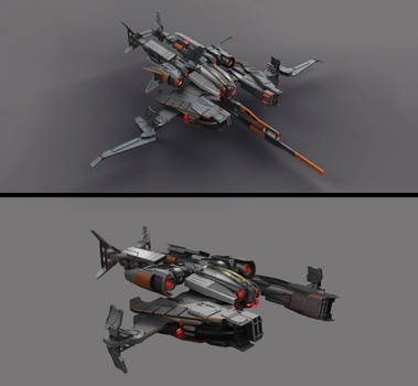 Spacecraft concept by DmitryEp18