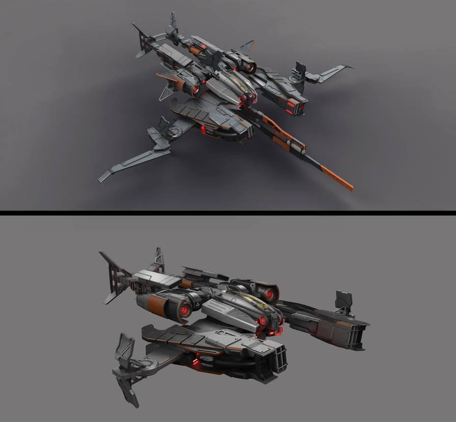 Spacecraft concept by DmitryEp18