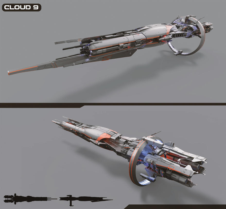 Cloud 9 battleship by DmitryEp18