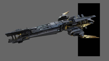 Another spaceship concept art