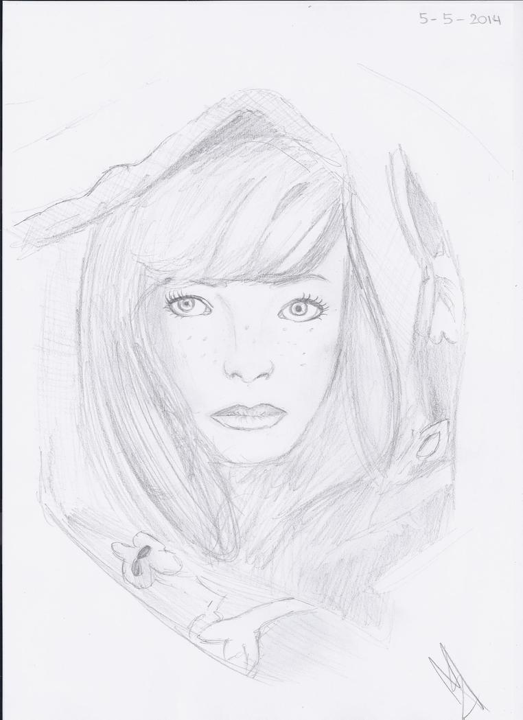 Portrait by Melanie-hungergames