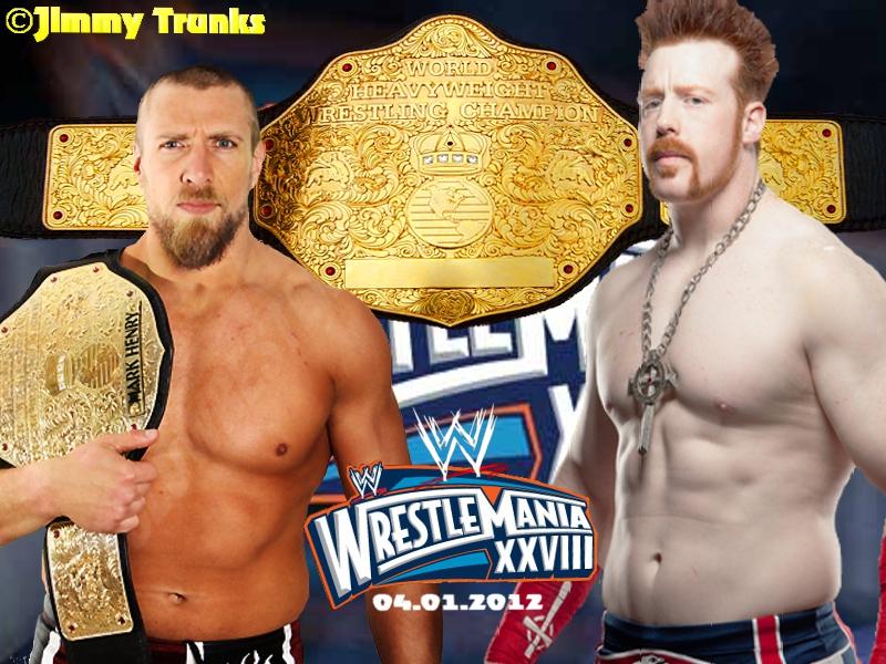 Sheamus vs Daniel Bryan Wrestlemania 28 by WWEDudeTrunks07 ...