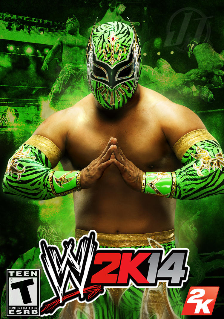 WWE 2K14 Sin Cara By WWEDudeTrunks07