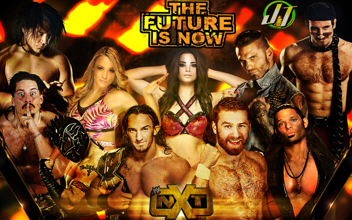 NXT Wallpaper The Future Is Now By WWEDudeTrunks07