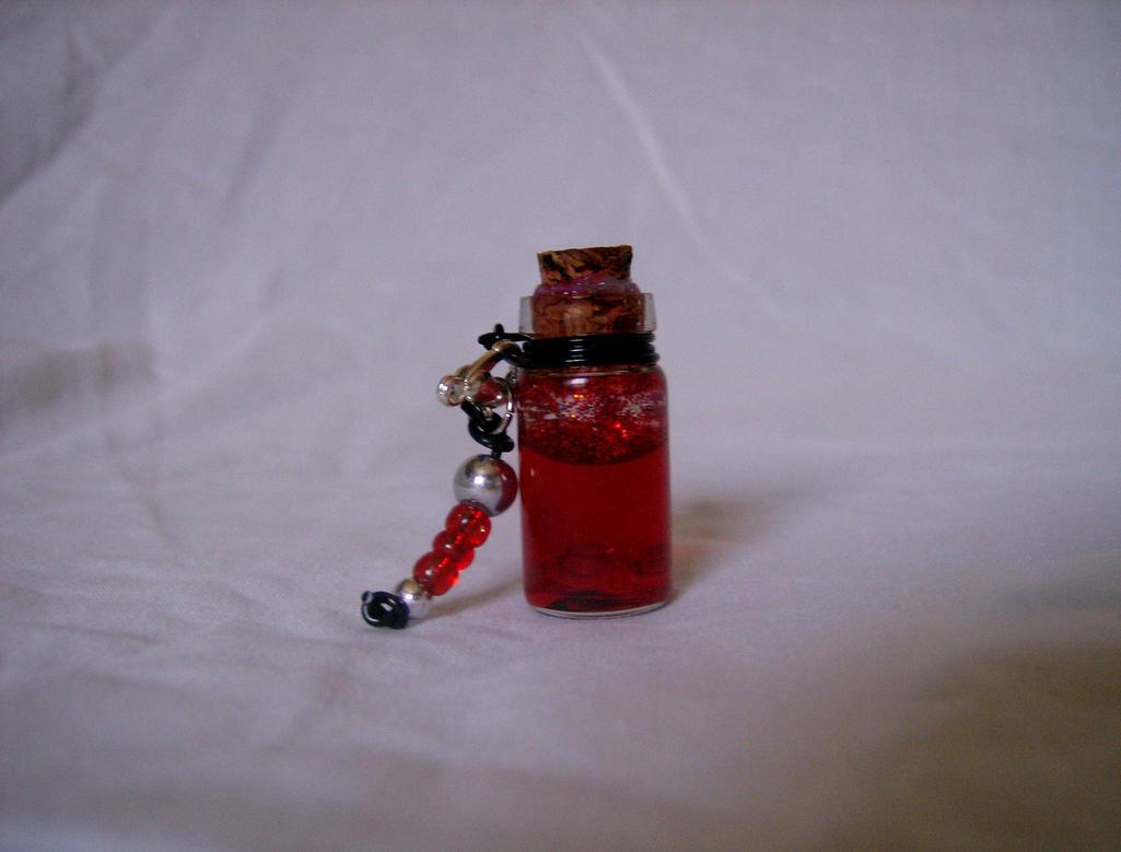 BottleScape: Custom: Health Pendant by DoorStop1227