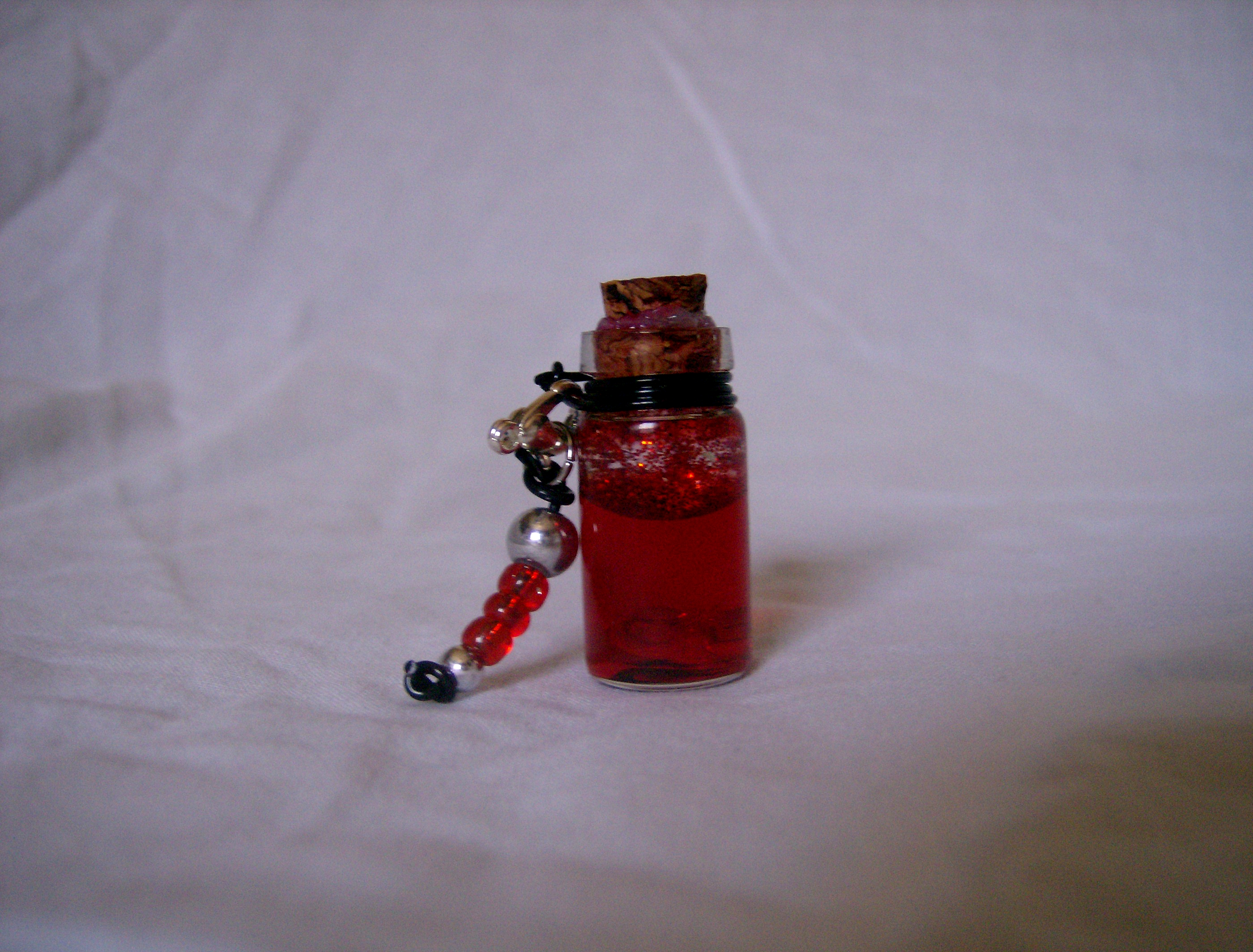 BottleScape: Custom: Health Pendant by DoorStop1227