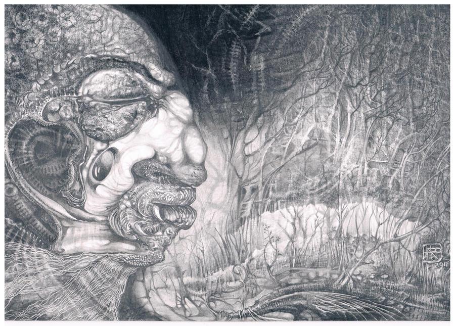 FOMORII WARRIOR by ArtOfTheMystic